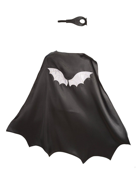 Cape + ansiktsmask - Super Hero Bat Boy
