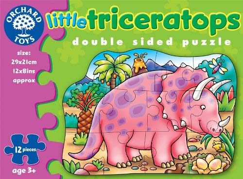 Pussel  Little Triceratops
