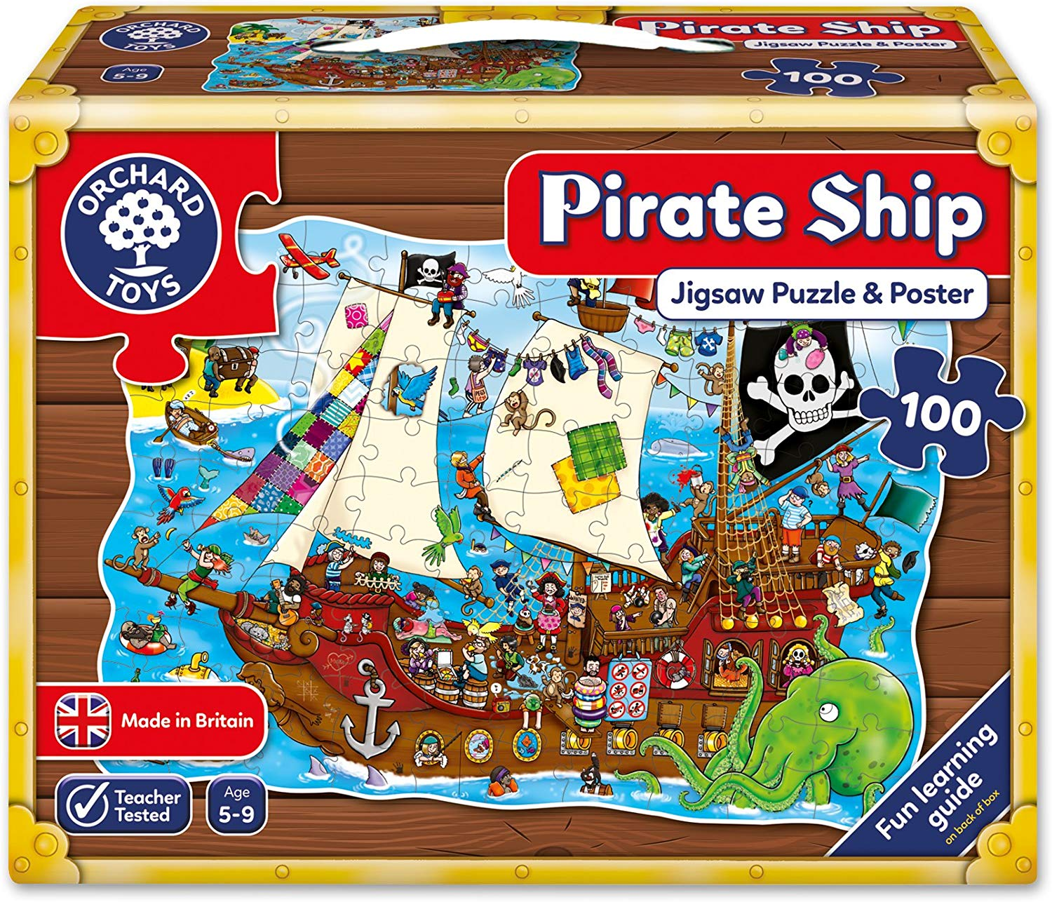 Pussel Pirate Ship